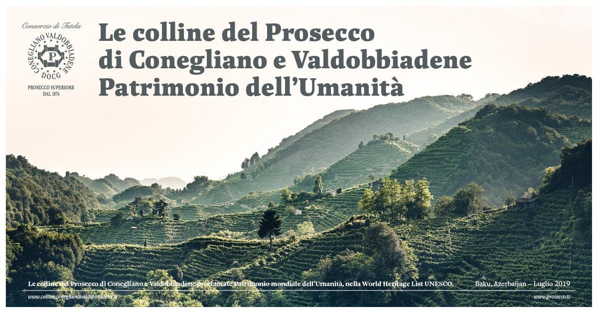 Wzgórza Prosecco di Conegliano i Valdobbiadene wpisane na Listę Światowego Dziedzictwa UNESCO